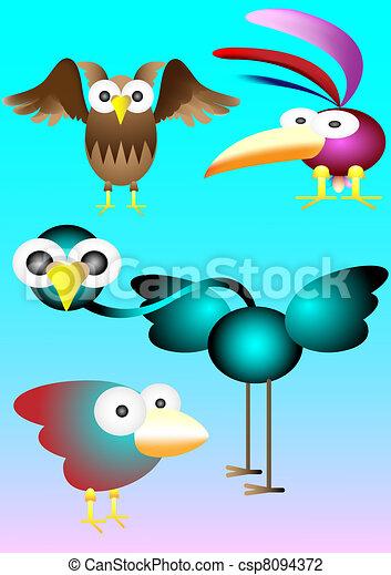Pájaros - csp8094372