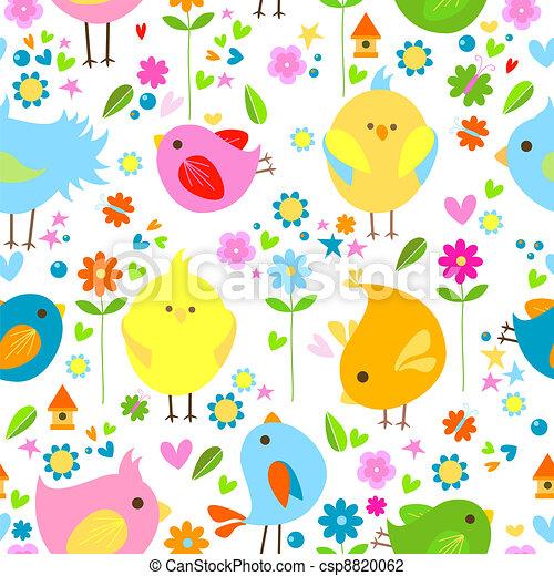 Pájaros de fondo - csp8820062