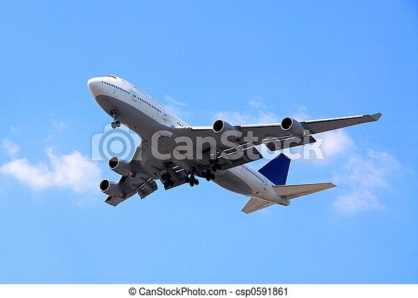 avião - csp0591861