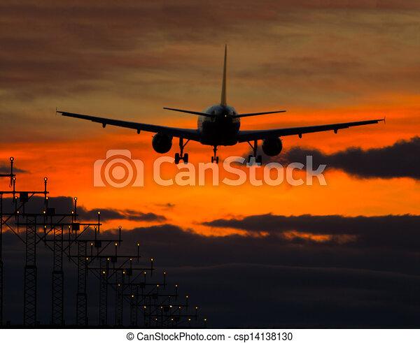 Avión - csp14138130
