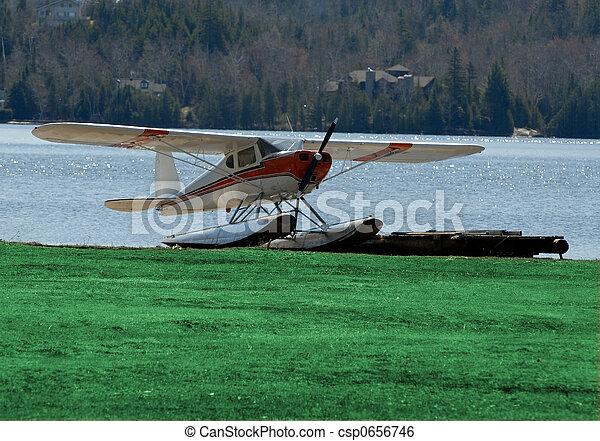 Avión flotante - csp0656746