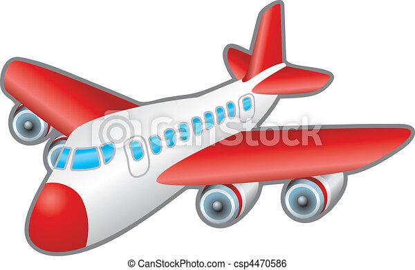 Ilustración de avión - csp4470586