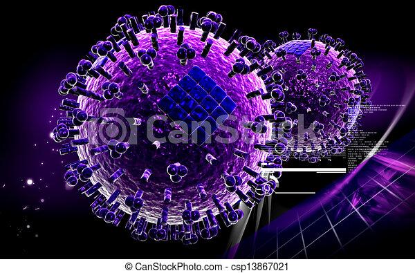 Avian Virus   - csp13867021