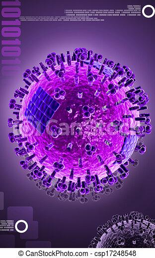 Avian Virus   - csp17248548