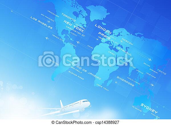 Aviation Background - csp14388927