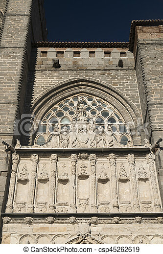 Avila (Castilla y Leon, Spain): cathedral - csp45262619