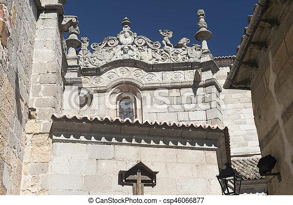 Avila (Castilla y Leon, Spain): cathedral - csp46066877