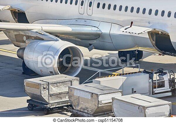 avion, maniement, terrestre - csp51154708