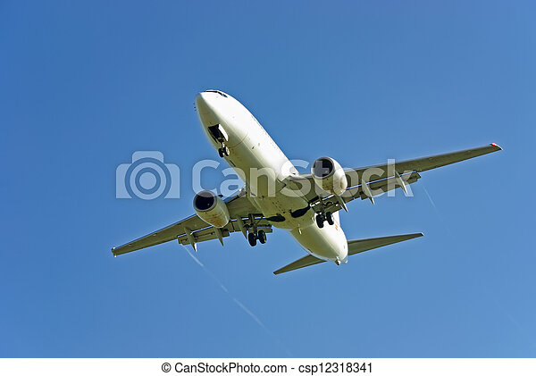 avion passager - csp12318341