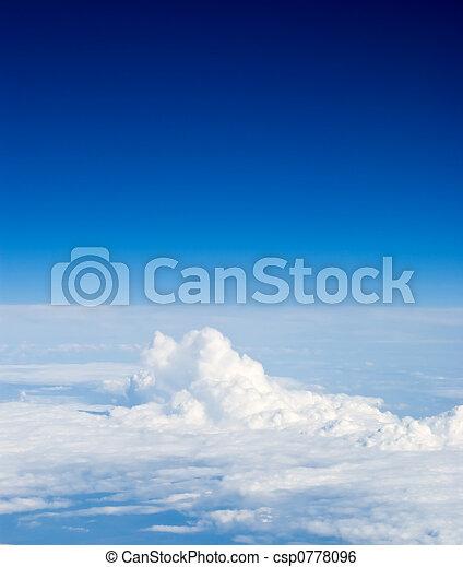 avion, vue - csp0778096