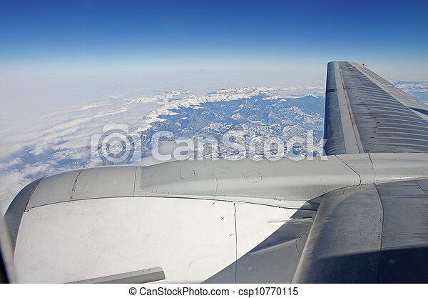avion, vue - csp10770115