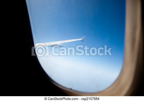 avion, vue - csp2157684