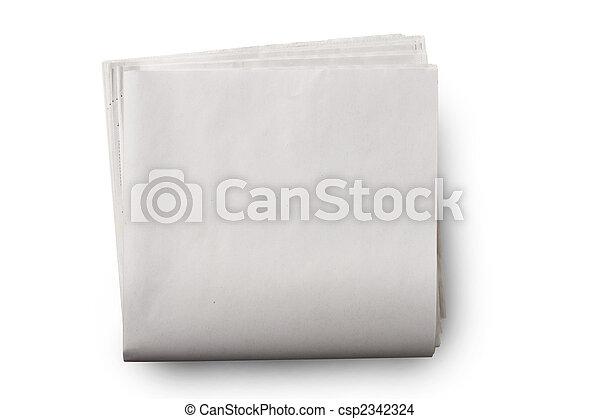 avis, blank - csp2342324