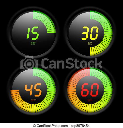 Tiempo digital - csp8978454