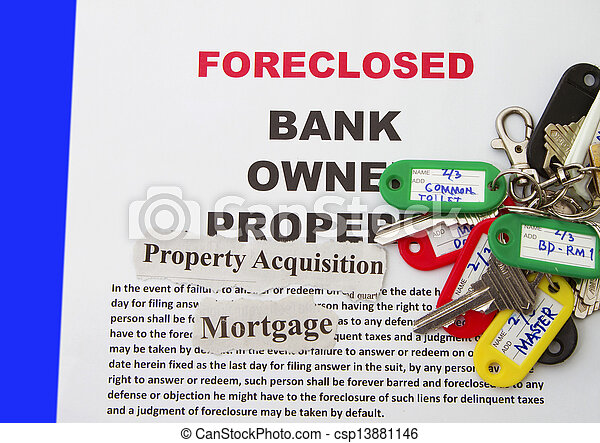aviso, foreclosure - csp13881146
