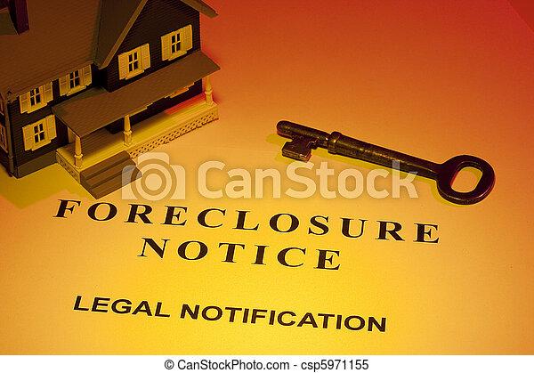 aviso, foreclosure - csp5971155