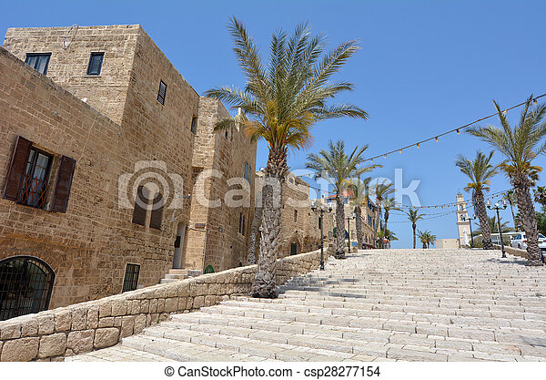 aviv, jaffa, israel, -, tel - csp28277154