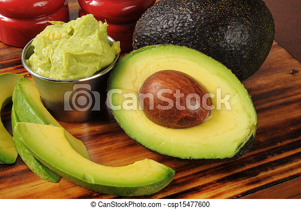 avocado, guacomole - csp15477600