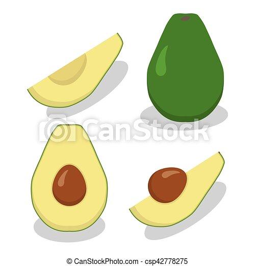 avocado - csp42778275