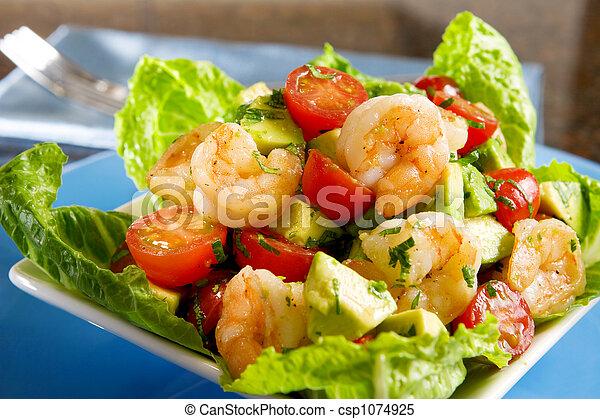 Avocado Shrimp Salad - csp1074925