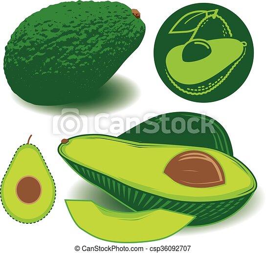 Avocados - csp36092707