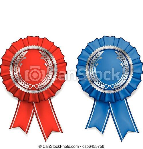 Award arms and ribbons - csp6455758