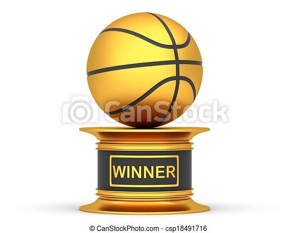 Award Basketball Trophy Cup