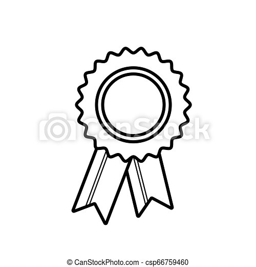 Award Icon in trendy flat style isolated on white background. Badge symbol for your web site design, logo, app, UI. Vector illustration, EPS10. - csp66759460