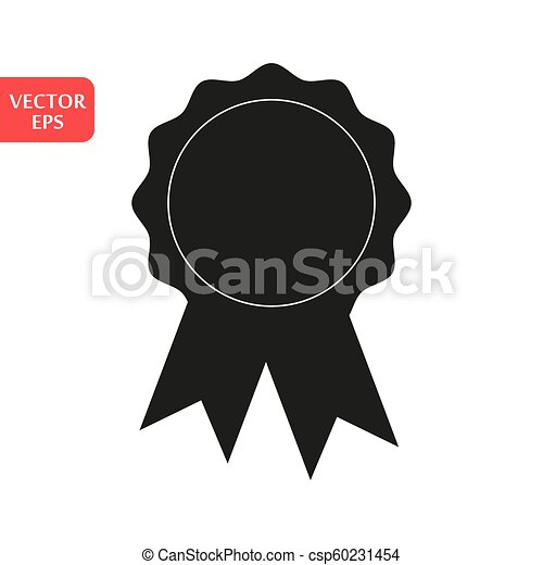 Award Icon in trendy flat style isolated on white background. Badge symbol for your web site design, logo, app, UI. Vector illustration, EPS10. - csp60231454
