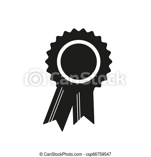 Award Icon in trendy flat style isolated on white background. Badge symbol for your web site design, logo, app, UI. Vector illustration, EPS10. - csp66759547