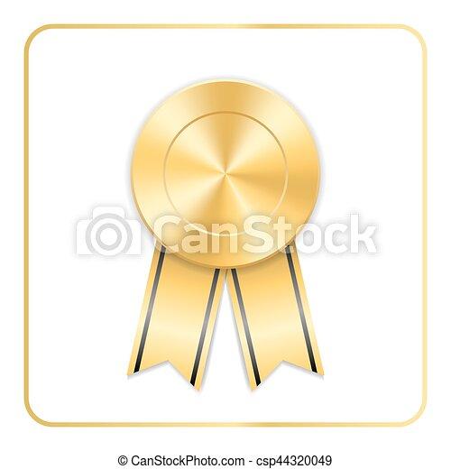 gold award ribbon
