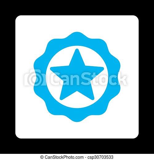Award seal icon - csp30703533