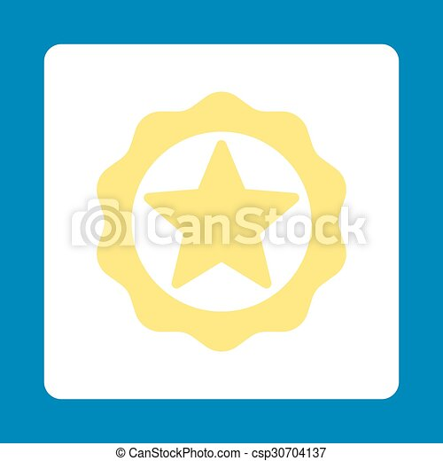 Award seal icon - csp30704137