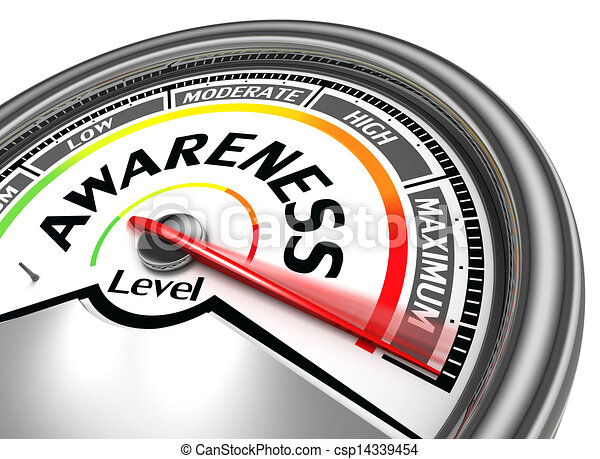awareness level conceptual meter - csp14339454