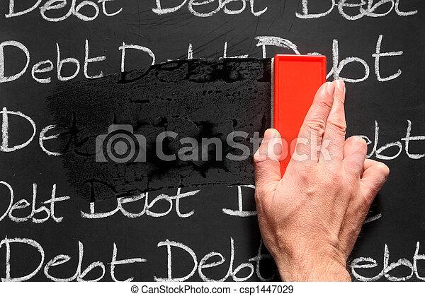 away., essuyer, dettes - csp1447029
