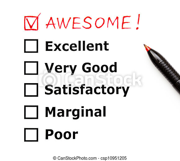 Awesome customer evaluation form - csp10951205