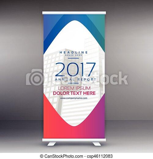 template banner design