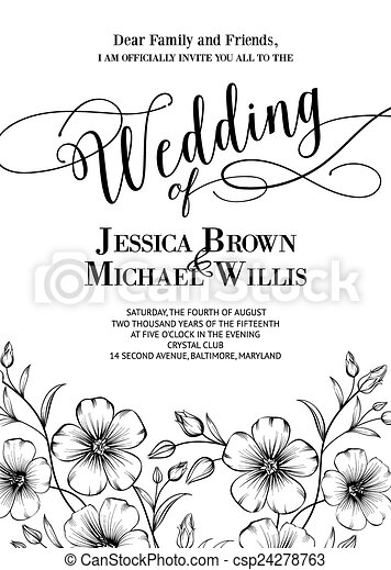 Awesome wedding invitation awesome wedding invitation with awesome wedding invitation vector stopboris Images
