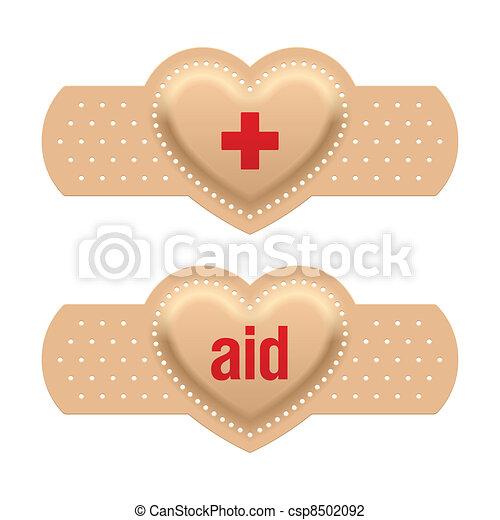 primeros auxilios con amor - csp8502092