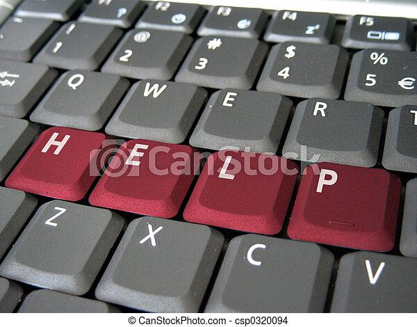 ayuda, teclado - csp0320094
