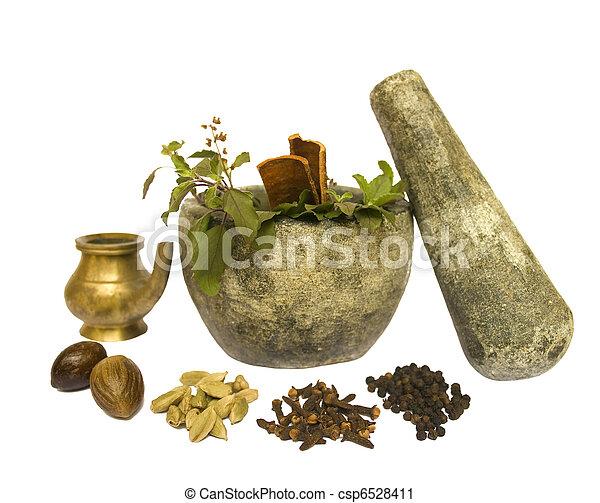 Ayurveda Natural Health - csp6528411
