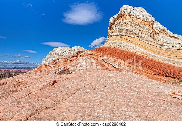 AZ-Paria Plateau-White Pocket - csp8298402