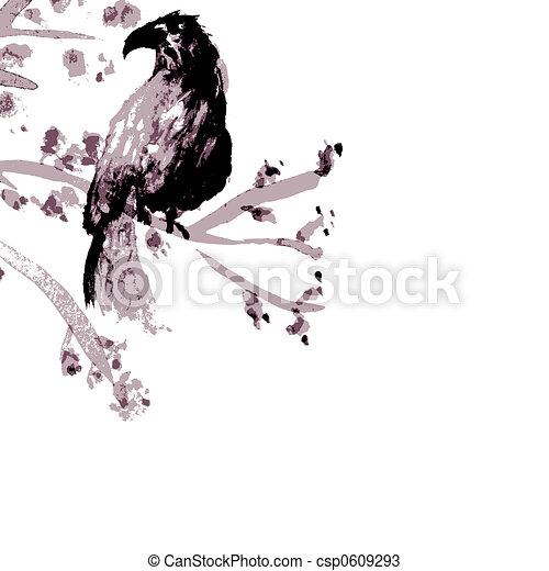 aziaat, vogel - csp0609293