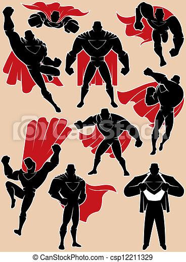 azione, superhero - csp12211329