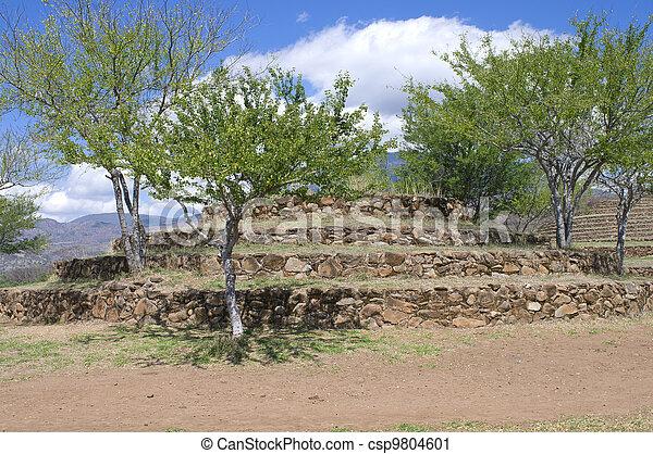 Azquelito Mound at Guachimontones Site - csp9804601
