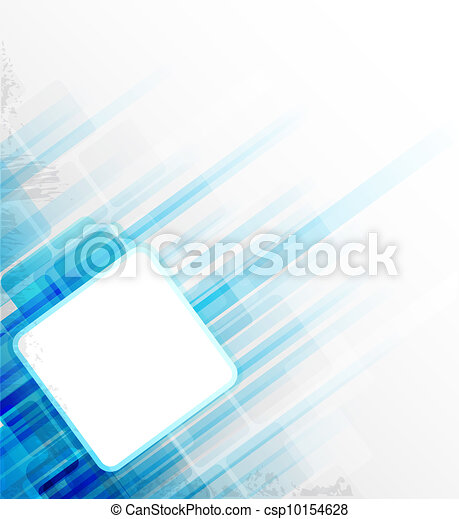 azul, abstratos, fundo - csp10154628