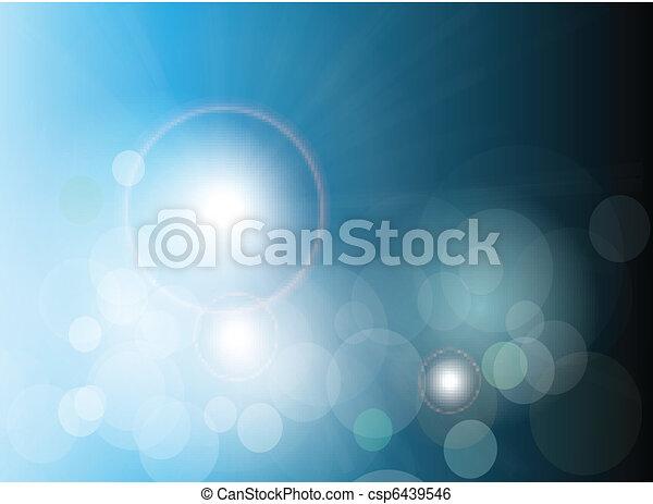 azul, abstratos, fundo - csp6439546