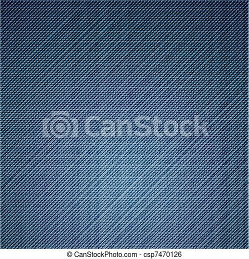 azul, cima., calças brim, textura, vetorial, fim - csp7470126
