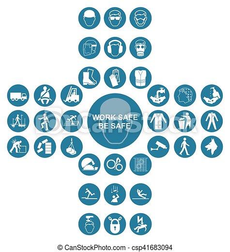 azul, cruciform, cobrança, saúde, segurança, ícone - csp41683094