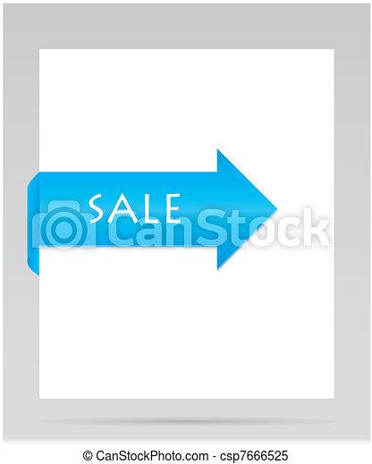 Papel azul - csp7666525